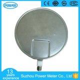 250mm Al Manometer Van uitstekende kwaliteit van de Prijs van de Fabriek van het Roestvrij staal