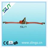 La courroie de rochet de Sln 2t*8m*35mm amarrent le GS de la CE