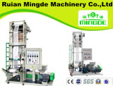 Single Screw Double Die Extrusion Blow Moulding Machine
