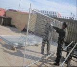 загородка звена цепи конструкции 6ftx10FT американские временно/панель загородки