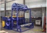 Frontière de sécurité nouée galvanisée Chaud-Plongée de treillis métallique