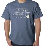 Diseño de la impresión personalizada de alta calidad de encargo camiseta