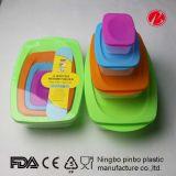 230ml/590ml/1250ml/2500ml FDA&LFGB Food Container Set (PT91268-4)