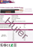 Fabricante de cabos profissional Rg59 CCTV Video Cable with Power