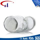 квалифицированный 750ml бессвинцовый стеклянный опарник еды (CHJ8081)