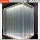 vidro da construção da segurança de 4-19mm, vidro modelado de derretimento quente decorativo para a porta do hotel & os Home/indicador/chuveiro/divisória/cerca com certificado de SGCC/Ce&CCC&ISO