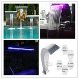 Chute d'eau d'intérieur légère de décoration de Digtal LED