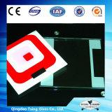 3 a 19mm com vidro moderado teste padrão personalizado do Silkscreen