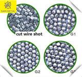 Corte o fio de aço Shot, corte o fio Rounf G1 G2 G3 0.1-3.0 dureza elevada