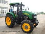 Alimentador de granja de cuatro ruedas grande vendedor caliente de la potencia 80HP