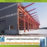 Fácil instalar edifícios do aço da luz do baixo custo