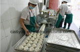 機械を形作るMomo詰められたメーカーを作る中国の蒸気を発したパン