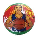 Neonfarben-Qualitäts-Gummi-Basketball