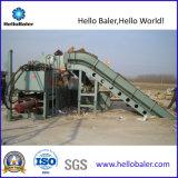 Горизонтальный Hellobaler бумажных отходов (ЗДВ пресса10-14)