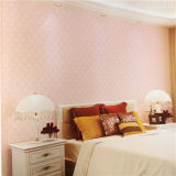 Fond d'écran Eco-Friendly Design Wallpaper Pink PVC Discount