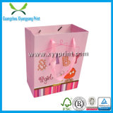 Изготовленный на заказ милый бумажный мешок руки при напечатанный логос