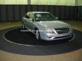 Платформа автомобиля 360 градусов вращаясь вращая для индикации или парковать
