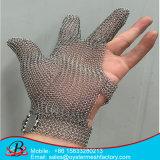 Безопасность металла Анти--Отрезала перст перчаток 5