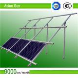 자연적인 양극 처리 쉬운 임명 태양 전지판 장착 브래킷