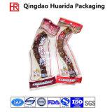 Sacchetto di plastica di imballaggio per alimenti del sacchetto dell'alimento Frozen con stampa variopinta