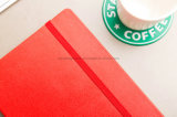 Haute qualité Moleskine Hard Cover Roublé Notebook, PU Softcover Notebook pour bureau et école