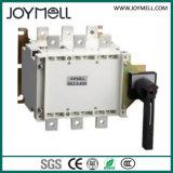 Double alimentation électrique 3p 4P Commutateur de transfert manuel de 1A à 1600A