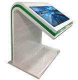 Fußboden, der 55 Zoll-Noten-interaktiven Bildschirm allen in einem Kiosk steht