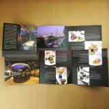 Impression professionnelle de feuillet d'insecte de livret explicatif de catalogue d'impression de brochure