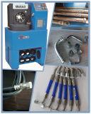 掘削機ローダーまたはクレーン油圧ホースのための公認のセリウムの新しい夕食の薄い油圧ホースのひだが付く機械
