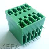 Conector da PCB de fileira dupla com VDE Aprovado Kf2edgrh/Vh-5.0/5.08