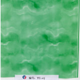 Yingcai 1m広く緑の大理石の卸し売り水転送の印刷のフィルム