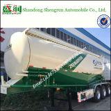 De Oplegger van de Tanker van de Bloem van het Cement van het BulkPoeder van drie Assen 38m3 voor Verkoop