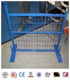 Temporärer Zaun mit Eisen-Füße Kurbelgehäuse-Belüftung beschichtet