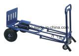 Carrinho de mão dobrável de cor azul para venda (HT1824)