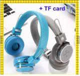Receptor de cabeza estéreo Bluetoot sin hilos Hearphones de la ranura para tarjeta del TF
