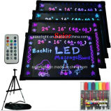Neues Fashion LED Fluorescent Pop Board Super Thin und Brightness