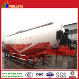 De Aanhangwagen van het Tarwemeel van de Compressor van de Lucht van drie Assen