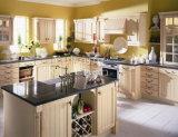 Commerce de gros Vente chaude des armoires de cuisine en bois massif #277