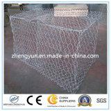 Casella esagonale di Gabion del collegare di fabbricazione della Cina/Gabion saldato dalla Cina