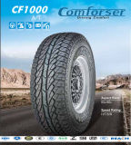 Umrissener weißer Zeichen-Auto-Reifen mit Qualität