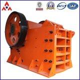 Triturador de maxila de pedra da maquinaria de mineração com série do PE
