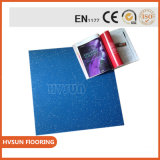 China-Lieferant 6mm bereitete Gummigymnastik-Bodenbelag-Rolleneignung-Mitte-Gummigymnastik-Bodenbelag auf
