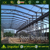 Estrutura de estrutura de aço industrial / comercial pré-fabricada da África