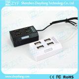 Trapezoid Shape 4 Port USB Hub 2.0 (ZYF4233)