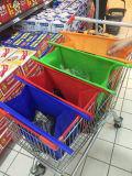 يطوي قابل للاستعمال تكرارا حقائب بناء حقيبة غير يحاك [غروسري شوبّينغ] حامل متحرّك حقيبة لأنّ مغازة كبرى