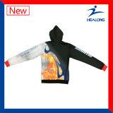 Sublimación Ropa deportiva con cremallera Mens invierno Hoodies suéteres