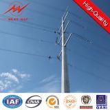 8m 5kn Afrika galvanisierten elektrischer Strom-Pole-Fertigung
