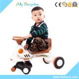 Vespa del bebé con Pushbar/el coche del oscilación de los juguetes del vehículo del cabrito barato de la fábrica