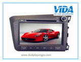 Специальная кудель DIN автомобиля DVD на Хонда 2012 гражданское (правый управлять)
