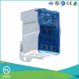 EindBlok 1 van de Schakelaar van Utl Elektro Plastic in 11 uit Verdelers